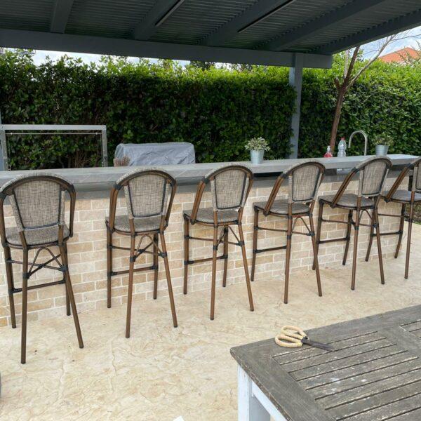 כסאות בר חוץ